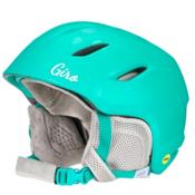 Giro Nine MIPS Kids Helmet, Matte Turquoise Bubblegum, medium