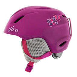 Giro Launch Kids Helmet 2017, Berry Butterflies, 256