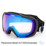 Giro Onset Goggles, Black Wordmark-Persimmon Boost, medium