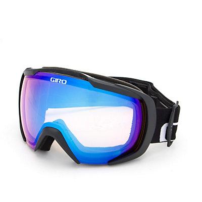 Giro Onset Goggles, Black Wordmark-Amber Scarlet, viewer