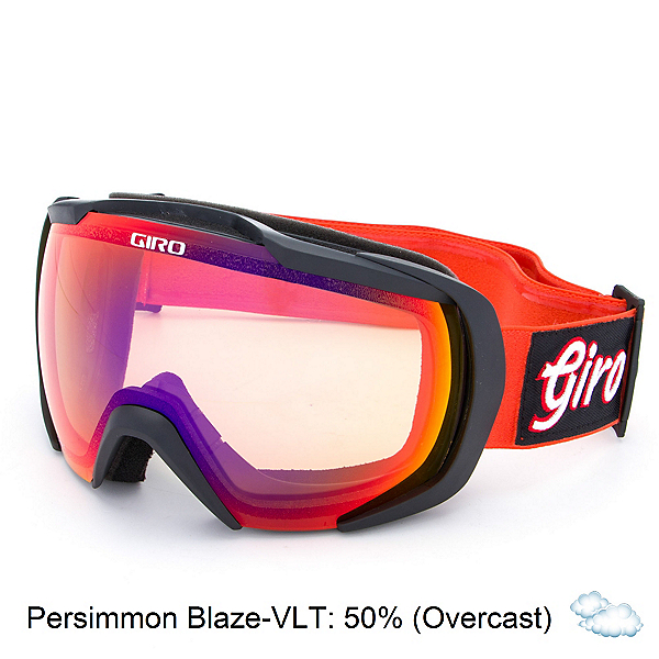 Giro Onset Goggles, Glowing Red Gameday-Persimmon, 600