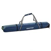 Salomon 2 Pairs 175+ 20 Expandable Ski Bag 2016, Midnight Blue-Granny Green, medium