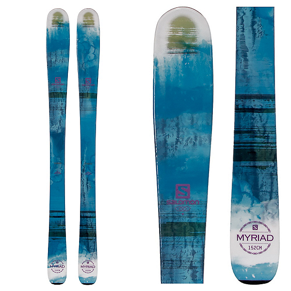 Salomon Q-83 Myriad Womens Skis, , 600