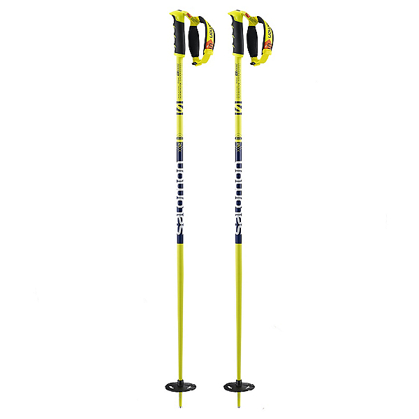 Salomon Hacker S3 Ski Poles 2017, Yellow-Black, 600