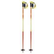 Salomon Hacker S3 Ski Poles 2017, Orange-Yellow, medium