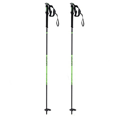 Salomon MTN Outdoor Ski Poles 2017, Black-Green, viewer