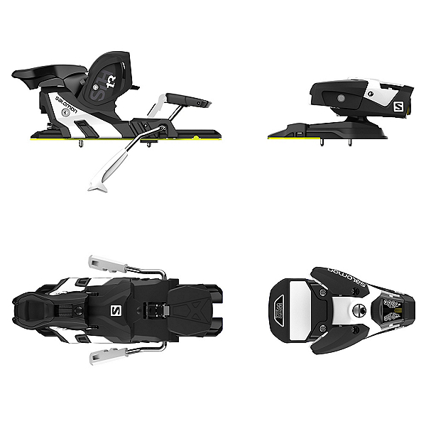 Salomon STH2 WTR 13 Ski Bindings 2018, Black-White, 600