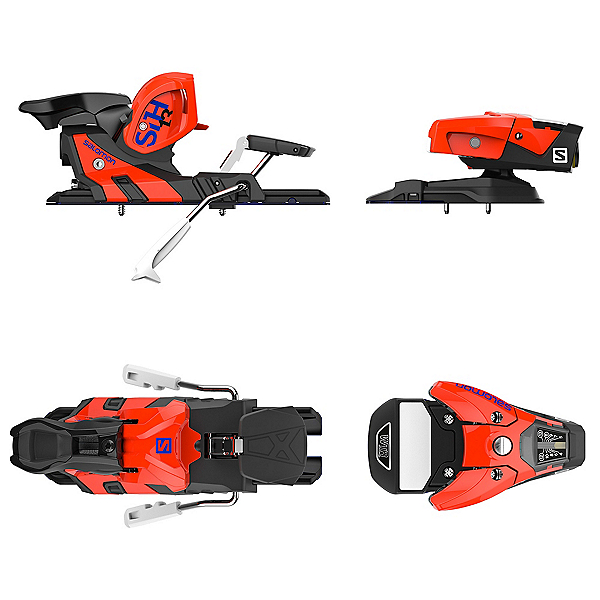 Salomon STH2 WTR 13 Ski Bindings 2017, Orange-Black, 600