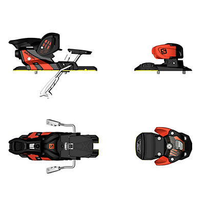 Salomon Warden MNC 13 Ski Bindings 2017, Orange-Black, viewer