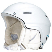 Salomon Icon 4D Custom Air Womens Helmet 2016, White Matt, medium