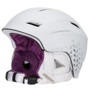 Salomon Aura Auto Custom Air Womens Helmet, White, medium
