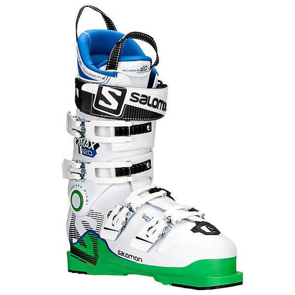 Salomon X-Max 120 Ski Boots, Green-White, 600