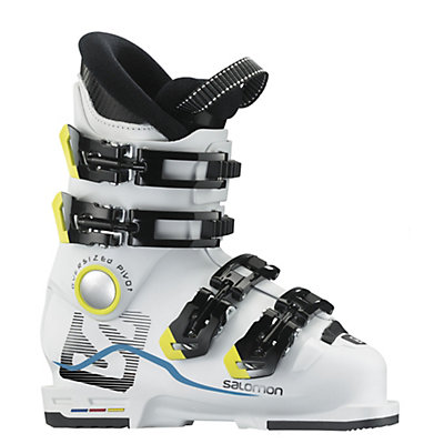 Salomon X-Max 60 T Kids Ski Boots, White-White, viewer