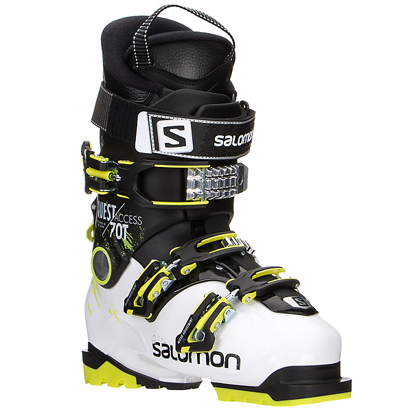 Salomon Quest Access 70 T Kids Ski Boots 2017, White-Black, 600