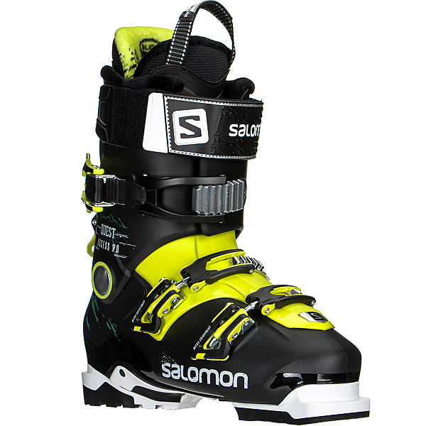 Salomon Quest Access 90 Ski Boots 2017, Black-Acide Green, 600