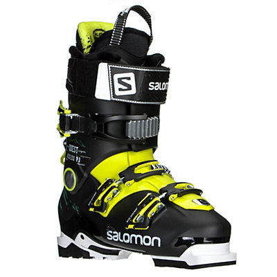 Salomon Quest Access 90 Ski Boots 2017, Black-Acide Green, viewer