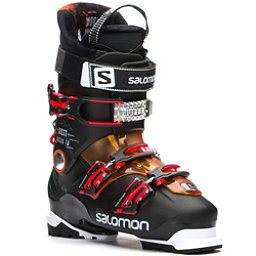 Salomon Quest Access 70 Ski Boots 2017, Black-Orange Translucent, 256
