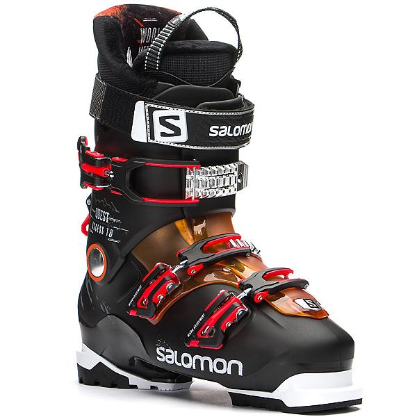 Salomon Quest Access 70 Ski Boots, Black-Orange Translucent, 600