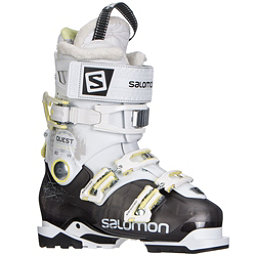 Salomon Quest Access 80 W Womens Ski Boots, Anthracite Translucent-White-A, 256