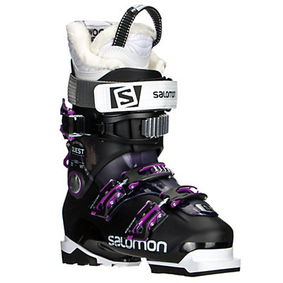 Salomon Quest Access 70 W Womens Ski Boots 2017, Black-Purple, viewer