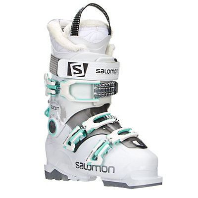 Salomon Quest Access 60 W Womens Ski Boots 2017, White-Anthracite Translucent-L, viewer