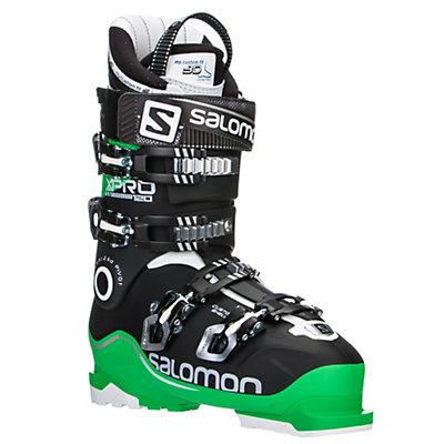 Salomon X-Pro 120 Ski Boots, Green-Black-White, viewer