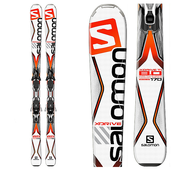 Salomon X-Drive 8.0 Ti Skis with XT 12 Bindings, , 600