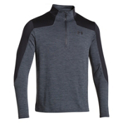 Under Armour Gamut 1/4 Zip Mens Mid Layer, Stealth Gray-Black, medium