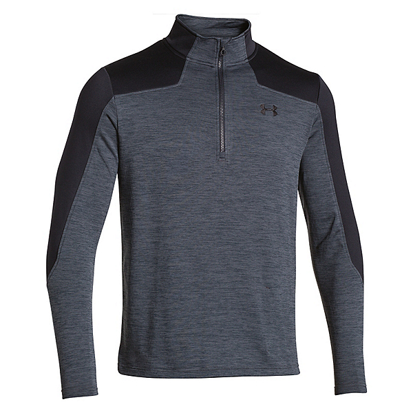 Under Armour Expanse 1/4 Zip Mens Mid Layer, Stealth Gray-Black, 600