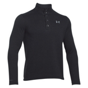 Under Armour Specialist Storm Mens Sweater, Black-Steel, medium