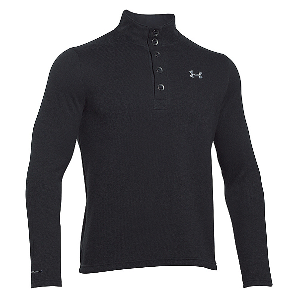 Under Armour Specialist Storm Mens Sweater, Black-Steel, 600