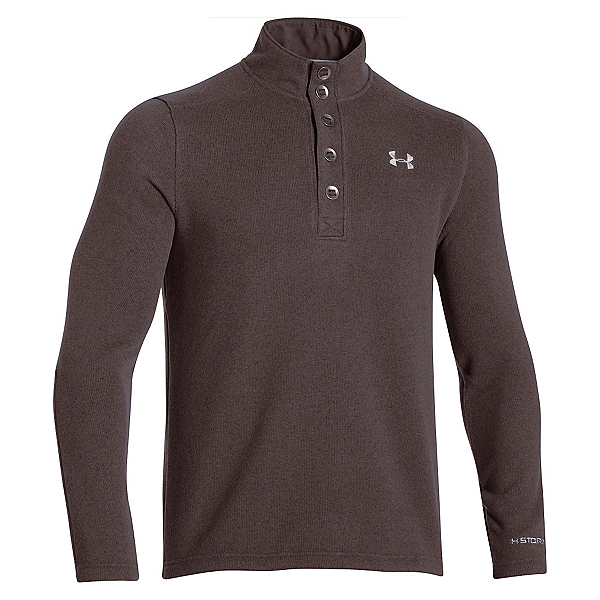 Under Armour Specialist Storm Mens Sweater, Maverick Brown-Steel, 600