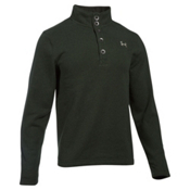 Under Armour Specialist Storm Mens Sweater, Artillery Green-Graystone, medium