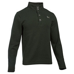 Under Armour Specialist Storm Mens Sweater, Artillery Green-Graystone, 256