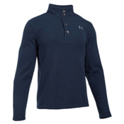 Under Armour Specialist Storm Mens Sweater, Midnight Navy-Overcast Gray, medium