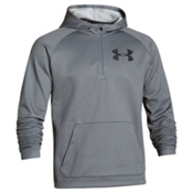 Under Armour CGI Beacon Anorak Hoodie, True Gray Heather-Black, medium