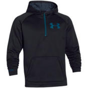 Under Armour CGI Beacon Anorak Hoodie, Black-Legion Blue, medium