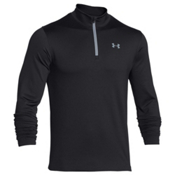 Under Armour CGI EVO Mens Long Underwear Top, Black-Steel, medium