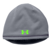 Under Armour CGI Storm Hat, Steel-Hyper Green, medium