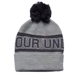 Under Armour Retro Pom Refresh Hat, True Gray Heather-Stealth Gray, 256