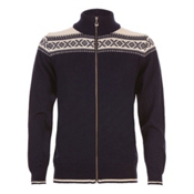 Dale Of Norway Hemsedal Masculine Mens Sweater, Navy-Off White, medium