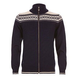 Dale Of Norway Hemsedal Masculine Mens Sweater, Navy-Off White, 256