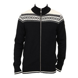 Dale Of Norway Hemsedal Masculine Mens Sweater, Black-Off White, 256