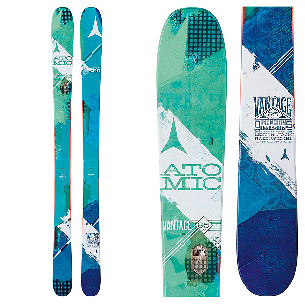 Atomic Vantage 95 C Womens Skis 2017, , 600