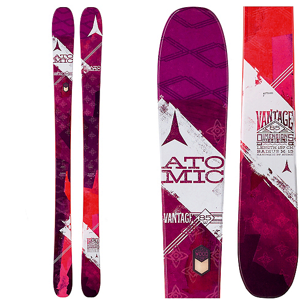 Atomic Vantage 85 Womens Skis, , 600