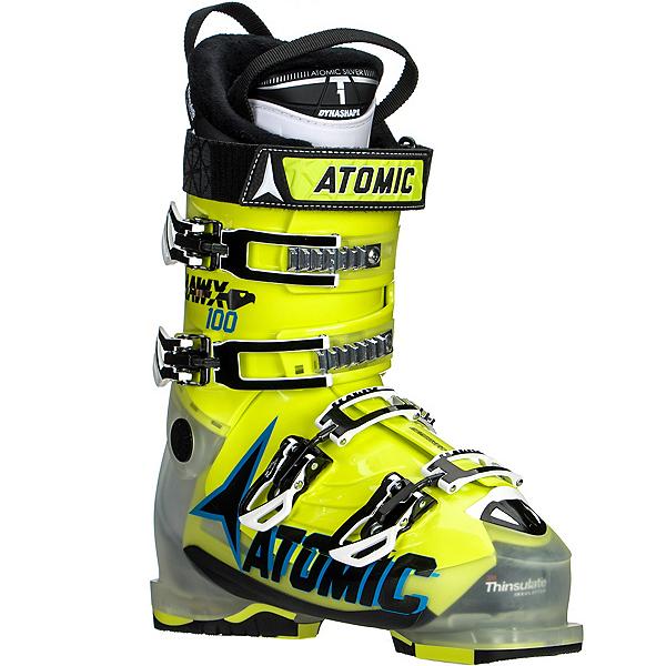 Atomic Hawx 100 Ski Boots, Crystal-Lime, 600