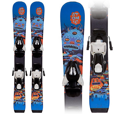 Atomic Rascal I Kids Skis with Evox 045 Bindings, , viewer