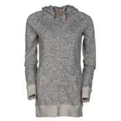Roxy Resin Knit Womens Hoodie, Egret, medium