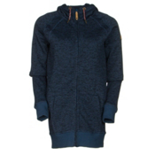 Roxy Resin Knit Womens Hoodie, Ensign Blue, medium