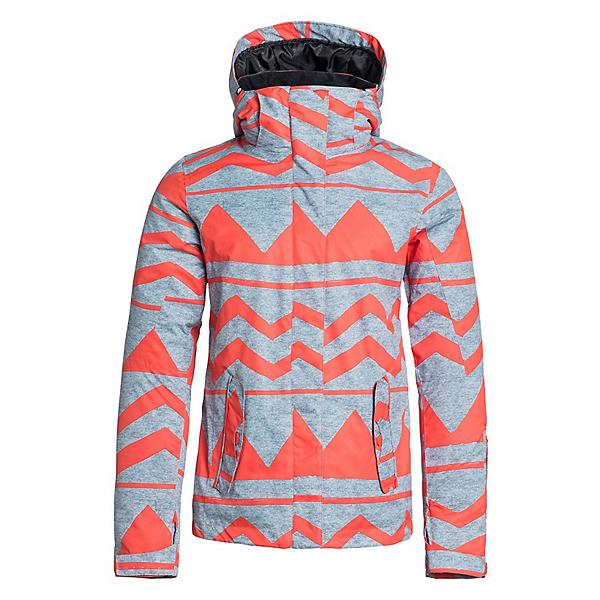 Roxy Jetty JK Womens Insulated Snowboard Jacket, Damaris Nasturtium, 600